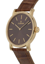 Corum Heritage 36 Automatic 18k Yellow Gold Leather Strap Watch Z293/03600