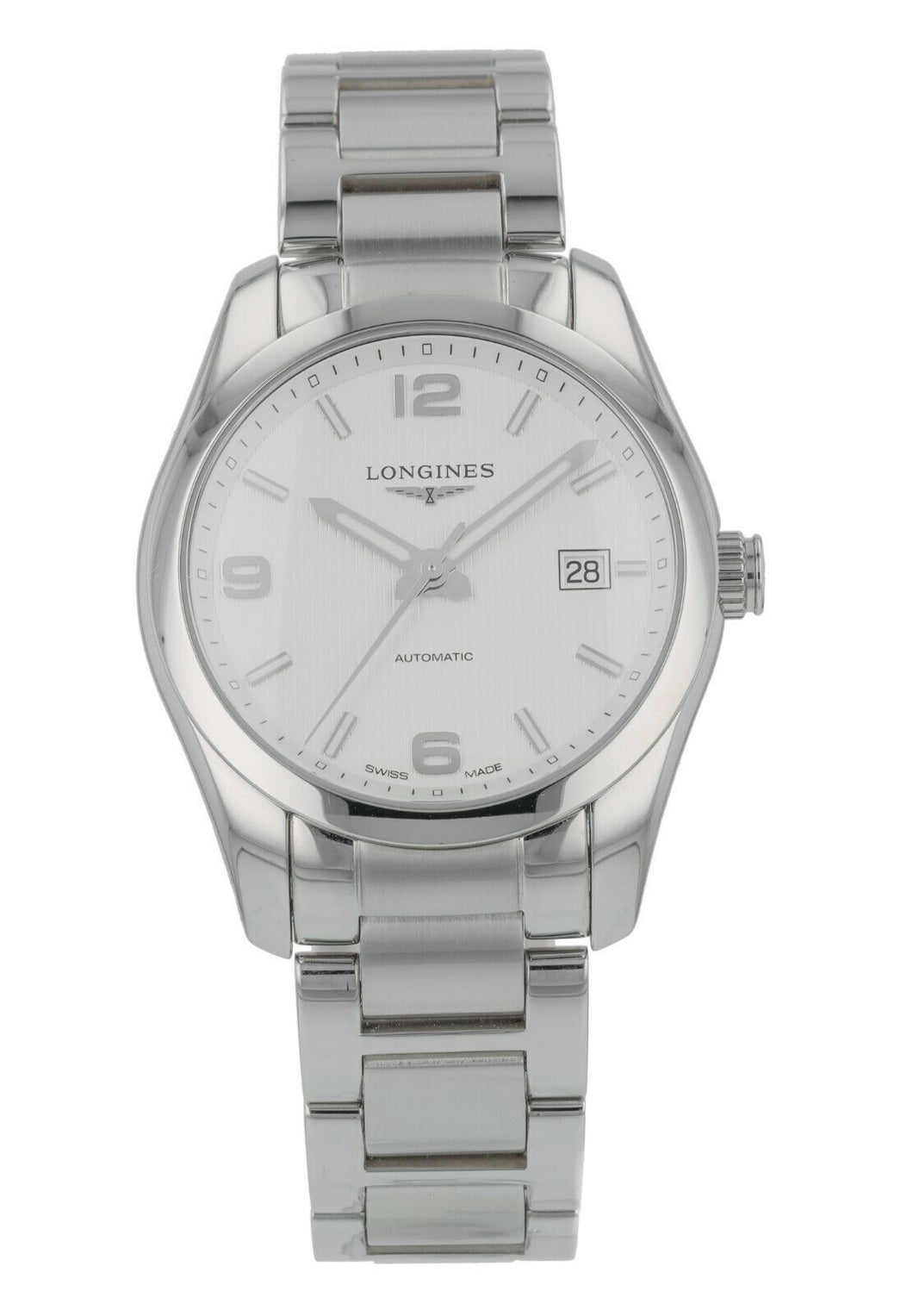 Longines Conquest Automatic Stainless Steel Men's 40mm Watch Watch L27854766