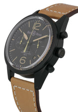 Bell & Ross Vintage Automatic Black Dial Men's 41mm Watch BRV126-HERITAGE/2