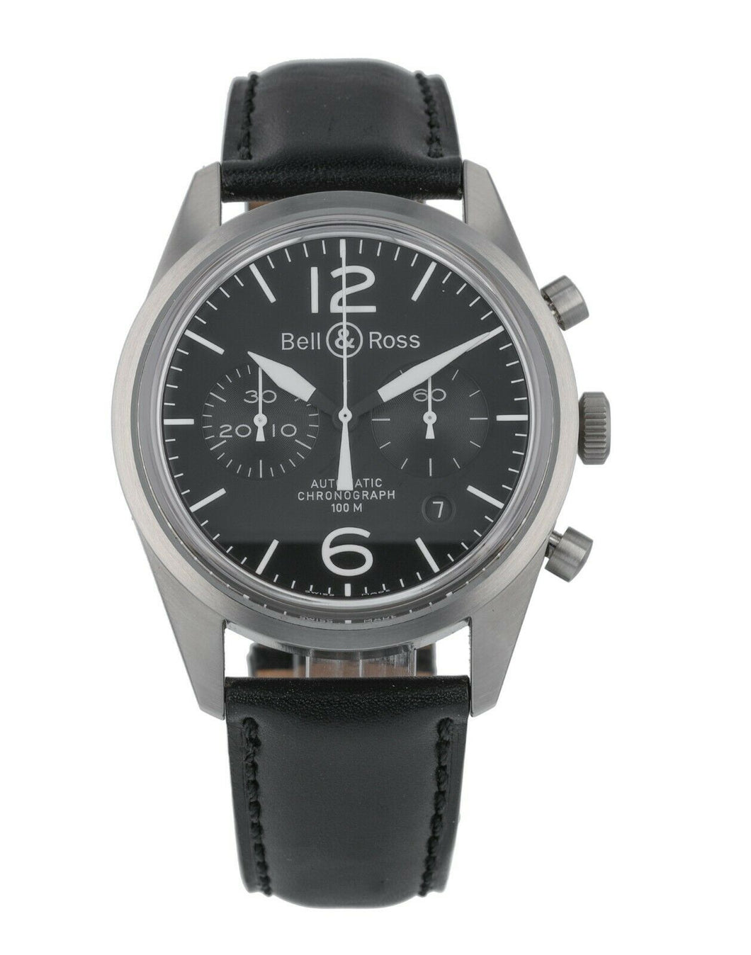 Bell & Ross Vintage Chronograph Automatic 41mm Men's Watch BRV126-BL-ST