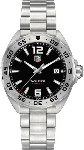 Tag Heuer Formula 1 Black Dial Men's 41mm Quartz Watch WAZ1112.BA0875
