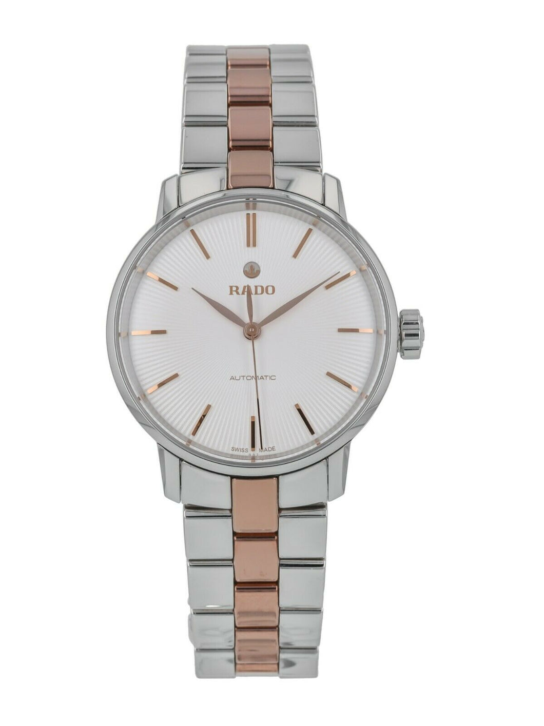 Rado Coupole Classic 32mm Silver Dial Automatic Ladies Watch R22862022