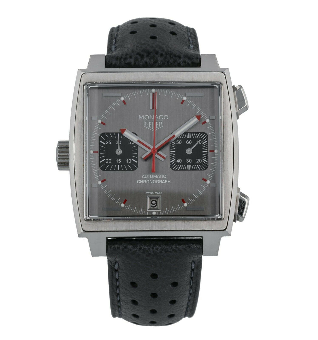 Tag Heuer Monaco 39mm Automatic Chronograph Men's Limited Watch CAW211B.FC6241