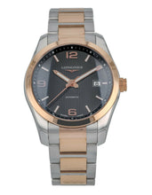 Longines Conquest Classic Automatic 18k Rose Gold & Steel Men's 40mm Watch