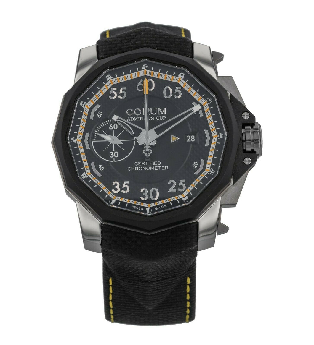 Corum Admirals Cup Seafender 48 Chrono Centro Mens Watch 960.101.04/0231 AN14