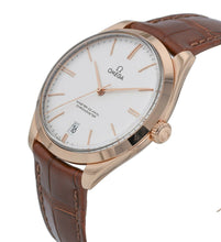 Omega De Ville Tresor 18k Sedna Rose Gold Men's 40mm Manual-Wind Watch