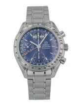 Omega Speedmaster Day Date Chronograph 39mm Automatic Blue Dial Watch 3523.8