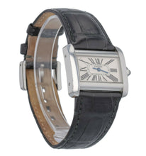 Cartier Divan Dial Ladies Stainless Steel Quartz 31mm Watch 2599