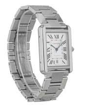 Cartier Tank Solo XL Automatic Silver Dial Men's Watch W5200028