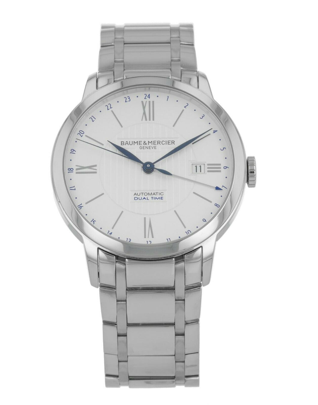 Baume & Mercier Classima Core Automatic Dual Time Men's 40mm Watch M0A10273