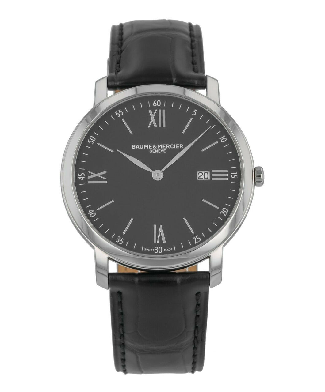 Baume & Mercier Classima Executives Stainless Steel 39mm Men's Watch M0A10098