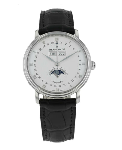 Blancpain Villeret Moonphase & Complete Calendar 37.6mm Mens Watch 6263-1127A