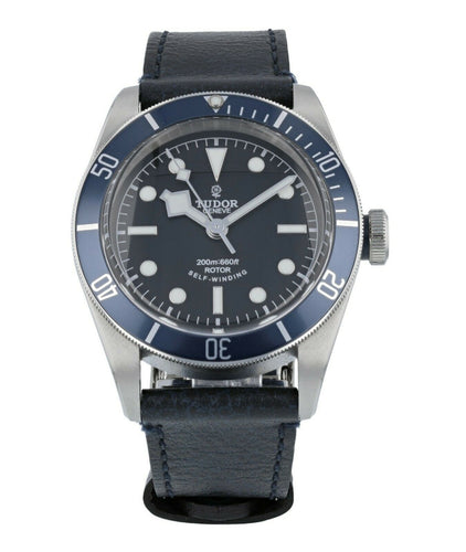 Tudor Heritage Automatic Chronometer Black Dial 41mm Men's Watch 79220