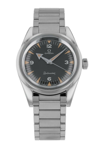 Omega Seamaster Railmaster Automatic 38mm Men's Watch 220.10.38.20.01.002