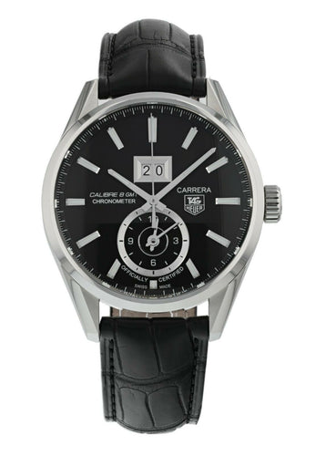Tag Heuer Carrera GMT Automatic Black 41mm Men's Watch WAR5010.FC6266