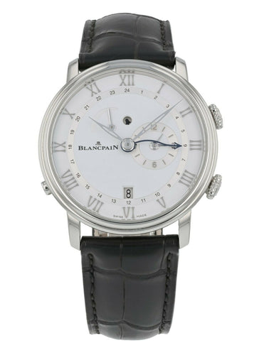 Blancpain Villeret Reveil GMT Alarm Automatic Men's Watch 6640-1127-55B