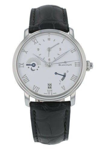 Blancpain Villeret Half Timezone Men's 40mm Automatic Watch 6660-1127-55B