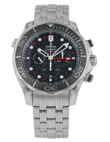 Omega Seamaster Diver Automatic Chronograph 44mm Men's Watch 212.30.44.52.01.001