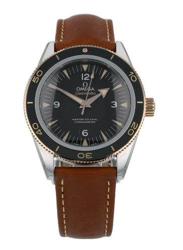 Omega Seamaster 300 18k Rose Gold & Steel Men's 41mm Watch 233.22.41.21.01.002