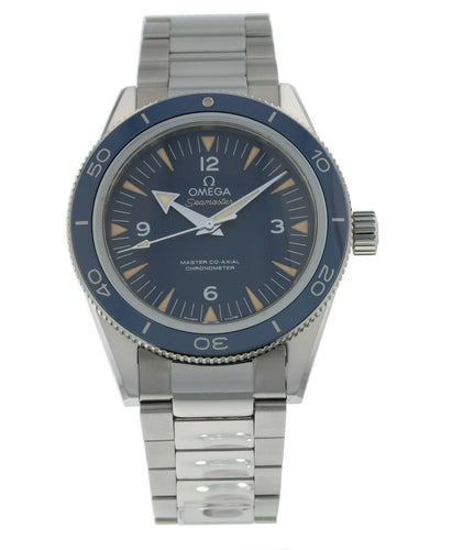 Omega Seamaster 300 Master Co-Axial 41mm Blue Dial Watch 233.90.41.21.03.001