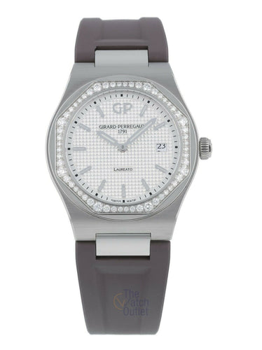 Girard-Perregaux Laureato Diamond Bezel Quartz 34mm Ladies Watch 80189D11A-131