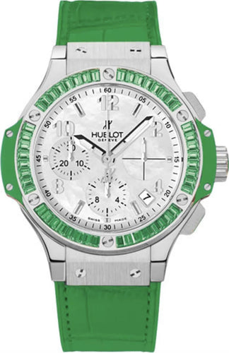 Hublot Big Bang Watch Tutti Frutti 41mm Chronograph Green Automatic Watch