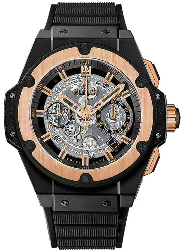 Hublot King Power Unico Chronograph Skeleton Dial Men's Watch 701.CO.0180.RX