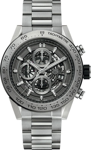 Tag Heuer Carrera Caliber Heuer 01 Skeleton 45mm Men's Watch CAR2A8A.BF0707