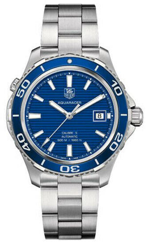 Tag Heuer Aquaracer 41mm Blue Dial Men's Automatic Watch WAK2111.BA0830