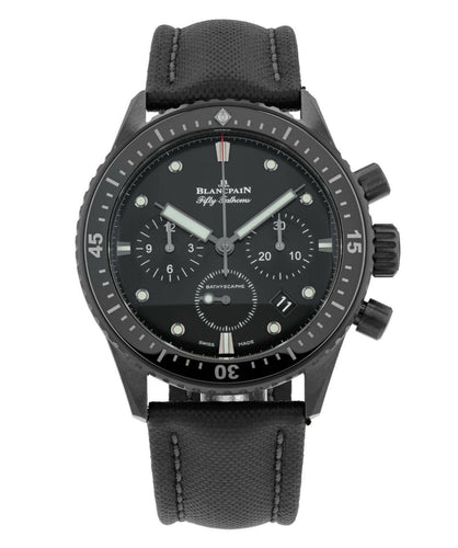 Blancpain Fifty Fathoms Bathyscaphe Chronograph Men's 43mm Watch 5200-0130-B52A