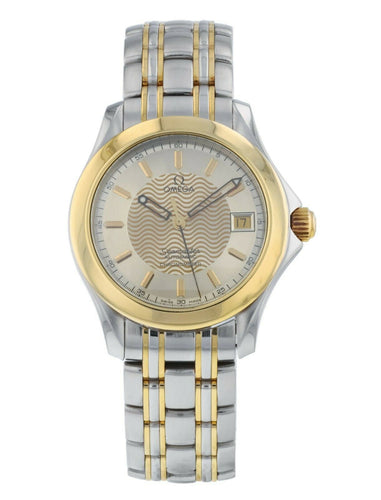 Omega Seamaster 18k Yellow Gold & Steel 36.25mm Automatic Watch 2301.11.00