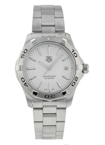 TAG Heuer Aquaracer Stainless Steel 39mm Quartz Mens Watch WAP1111.BA0831