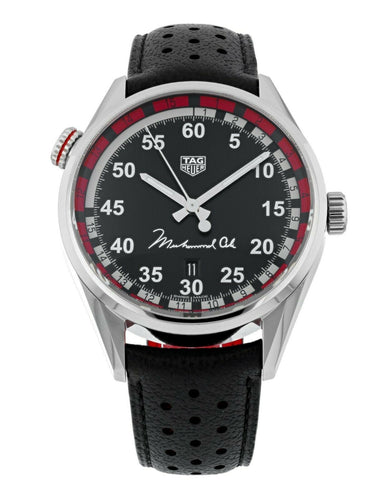 Tag Heuer Carrera Muhammad Ali Caliber 5 Men's 43mm Watch WAR2A11.FC6337