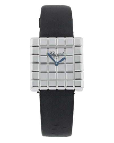 Chopard Ice Cube Designed by de Grisogono 18k White Gold Ladies Watch 12/7407