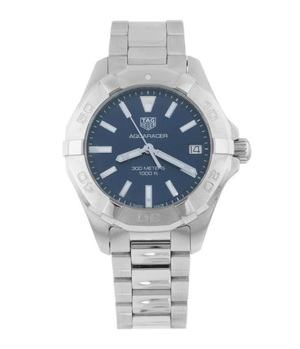 Tag Heuer Aquaracer Lady 300M 32mm Blue Dial Ladies Quartz Watch WBD1312.BA0740
