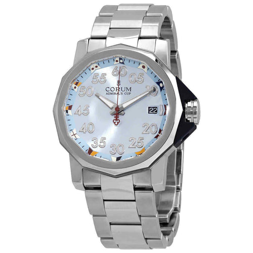 Corum Admiral's Cup Automatic Light Blue Dial 40mm Men's Watch A082/03376