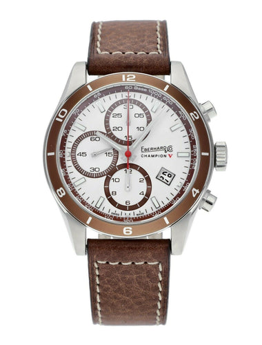 Eberhard & Co. Champion V Automatic 42.8mm Chronograph Men's Watch 31063