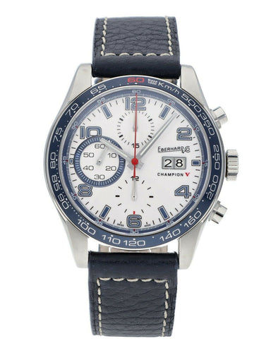 Eberhard & Co. Champion V Grande-Date Chronograph Auto 42.8mm Men's Watch 31064