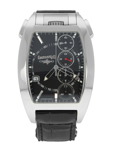 Eberhard & Co. Chrono 4 Temerario Automatic Stainless Steel Men's Watch 31047