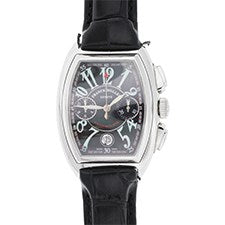 FRANCK MULLER CONQUISTADOR CHRONOGRAPH STAINLESS STEEL