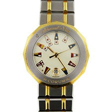 CORUM ADMIRAL'S CUP STEEL AND YELLOW GOLD
