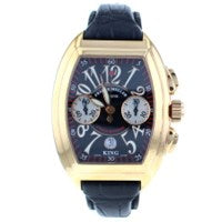 FRANCK MULLER KING CONQUISTADOR CHRONOGRAPH STAINLESS STEEL