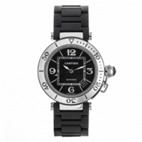 CARTIER PASHA SEATIMER STAINLESS STEEL