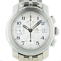 BAUME AND MERCIER CAPELAND CHRONOGRAPH STAINLESS STEEL