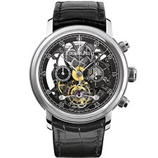 AUDEMARS PIGUET JULES AUDEMARS TOURBILLON CHRONOGRAPH WHITE GOLD