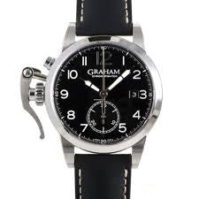 GRAHAM CHRONOFIGHTER 1965 STAINLESS STEEL