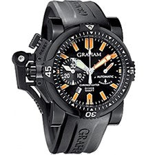 GRAHAM CHRONOFIGHTER OVERSIZE DIVER STEEL PVD