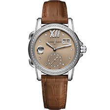 ULYSSE NARDIN CLASSIC DUAL TIME LADY STAINLESS STEEL