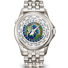 PATEK PHILIPPE COMPLICATIONS WORLD TIME PLATINUM