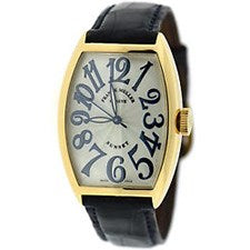 FRANCK MULLER CINTRE CURVEX YELLOW GOLD